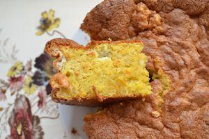 Gâteau moelleux à l'orange et à l'amande