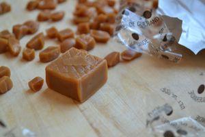 Biscuits sablés au caramel