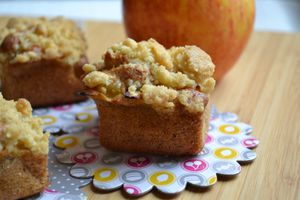 Crumbs Cakes pommes cannelle