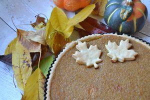 Pumkin Pie - tarte à la citrouille