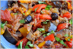 Caponata à la Sicilienne recette Weight-Watchers