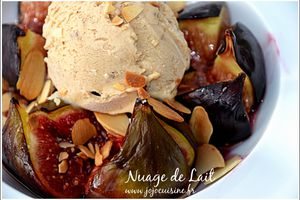 Chaud Froid de Figues Rôties