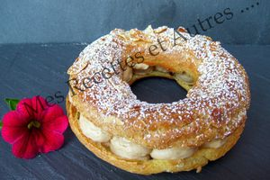 Paris-Brest, so gourmand ....