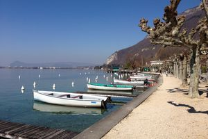 Lac d' Annecy : Rivages
