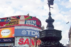 Londres : Picadilly Circus