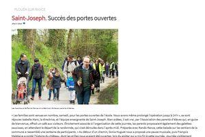 ARTICLE PORTES OUVERTES/RANDO LE TELEGRAMME