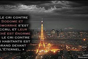 ATTENTATS DE PARIS DU VENDREDI 13, MESSAGE URGENT – Le cœur est atteint : La France doit se repentir ou elle périra.