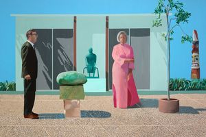 Hockney à Beaubourg (1)