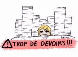 Devoirs :,(