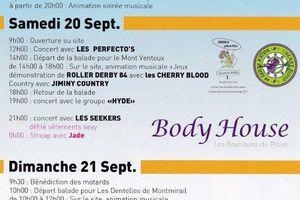 Defilé P.Catanzaro avec Body House Le Pontet