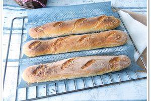 Baguettes croustillantes... presque comme chez le boulanger
