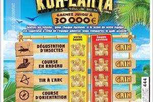 FDJ lance Koh-Lanta, un jeu à gratter événementiel, en partenariat avec TF1