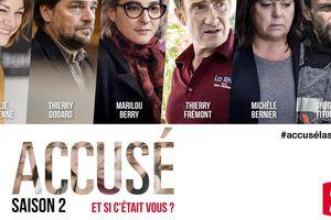 2 nouveaux épisodes de la saison 2 inédite d'Accusé, ce soir à 20h55 sur France 2