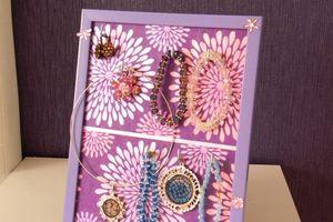 DIY Porte-bijoux de chevet en récup'