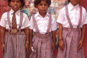 Enfants scolarisés par l'association: année scolaire 2012 - 2013