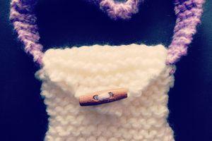 Petit sac en tricot