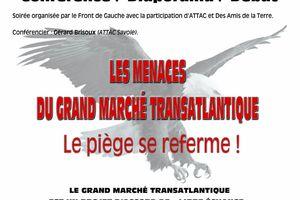 Conférence sur le Traité Transatlantique