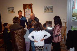 La section Montplaisir apprend le jardinage aux enfants