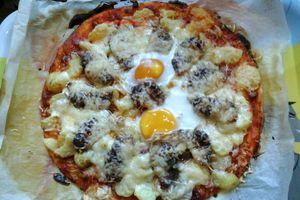 Pizza au magret de Mélissa et Yaelle