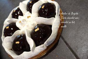 Tarte aux chocolats et vanille