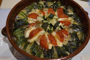 Tian méditerranéen ou Tomates-Mozza revisités