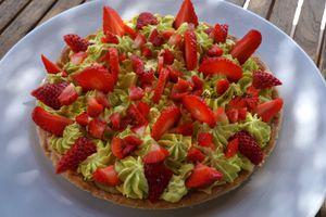 Tarte aux fraises.... simplement
