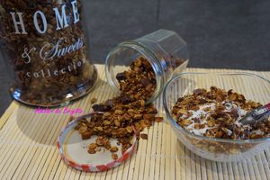 Granola n° 1 - fruits rouge