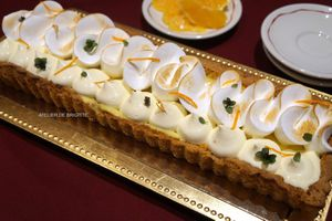 Tarte Orange et Meringue