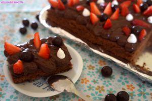 🍫 Brownie Michoko🍫, d'après une recette de Christophe Michalak