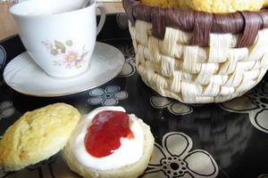 Des scones pour le tea-time