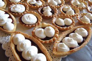 Mini-tartelette vanille-framboise