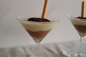 Duo de mousses chocolatées