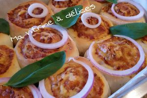 Pizza rolls au thon