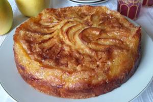 Irrésistible gâteau normand aux pommes