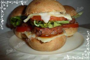 Hamburgers maison roquefort et boulettes de bœuf