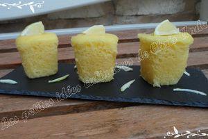 Gâteau au yaourt citronné