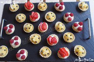 Mini-tartelettes aux fruits