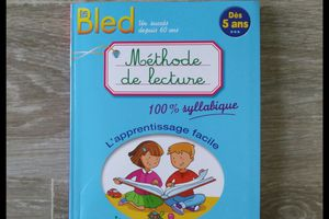 Bled, méthode de lecture 100% syllabique.