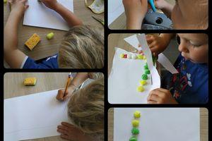 Ecrire des lettres avec du PlayMaïs.