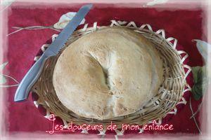 Couronne de pain croustillante