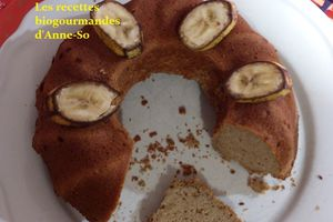 BANANA CAKE SANS GLUTEN