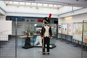 Compte rendu de l'expo Waterloo à l'Athénée Royal.