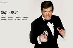 Décès de l'interprète mythique de James Bond, Roger Moore