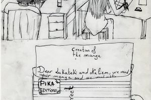 Creation of a manga by Mélian (5°4) (writing) & Fadi (5°4) (ideas)
