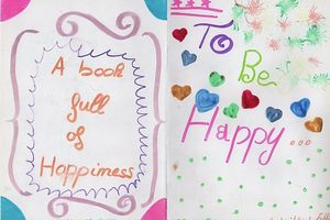 A book full of happiness by Esther (5°)