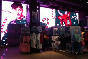 Digital Tour London 6 : Murs d'images Primark