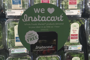 INSTACART AND WHOLEFOODS FETENT 1 AN DE PARTENARIAT