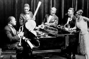 """LOUIS ARMSTRONG & LES """"5 CHAUDS"""""""