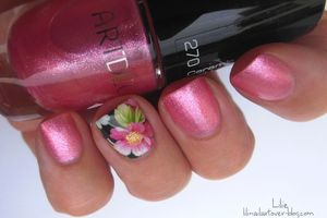 "Accent Nail Fleuri - Artdeco ""Hot Summer"""