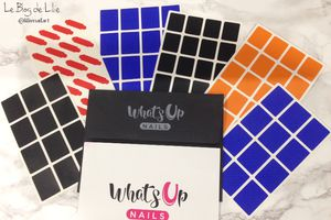 Nail Art SinfulColors & Whats Up Nails Stencils